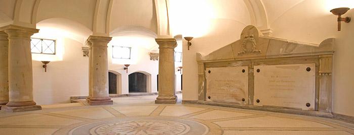 Krypta Mausoleum von Carstanjen © privat
