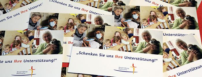 Mailingflyer der Bürgerstiftung © Stefan Reifenberg