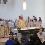 Visitationsmesse Weihbischof Ansgar Puff in St. Albertus Magnus